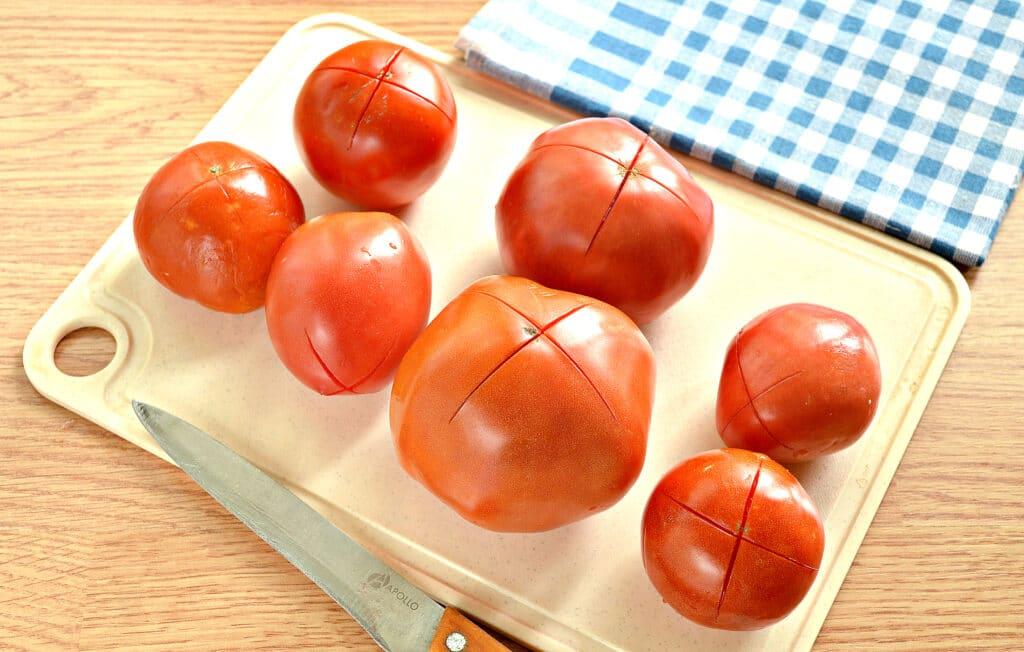 Фото рецепта - Замороженные помидоры на зиму - шаг 4