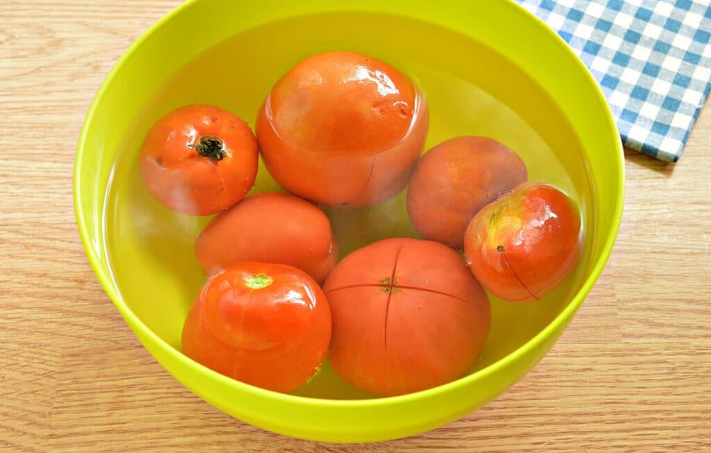 Фото рецепта - Замороженные помидоры на зиму - шаг 5