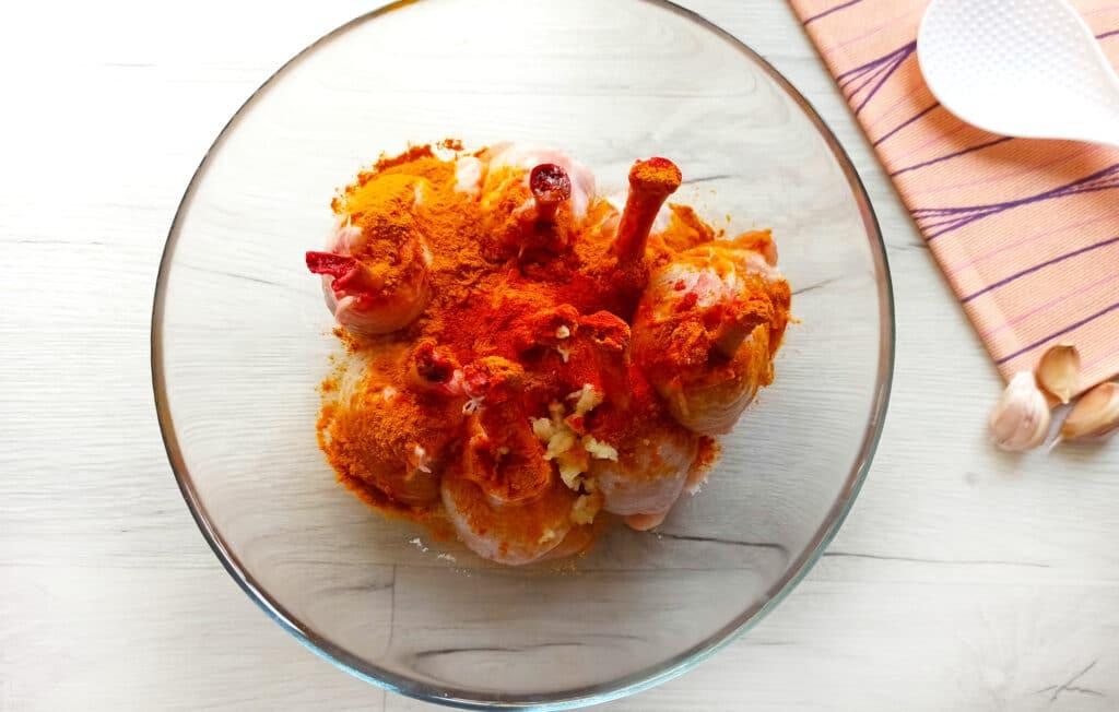 Фото рецепта - Куриные ножки в духовке - шаг 5