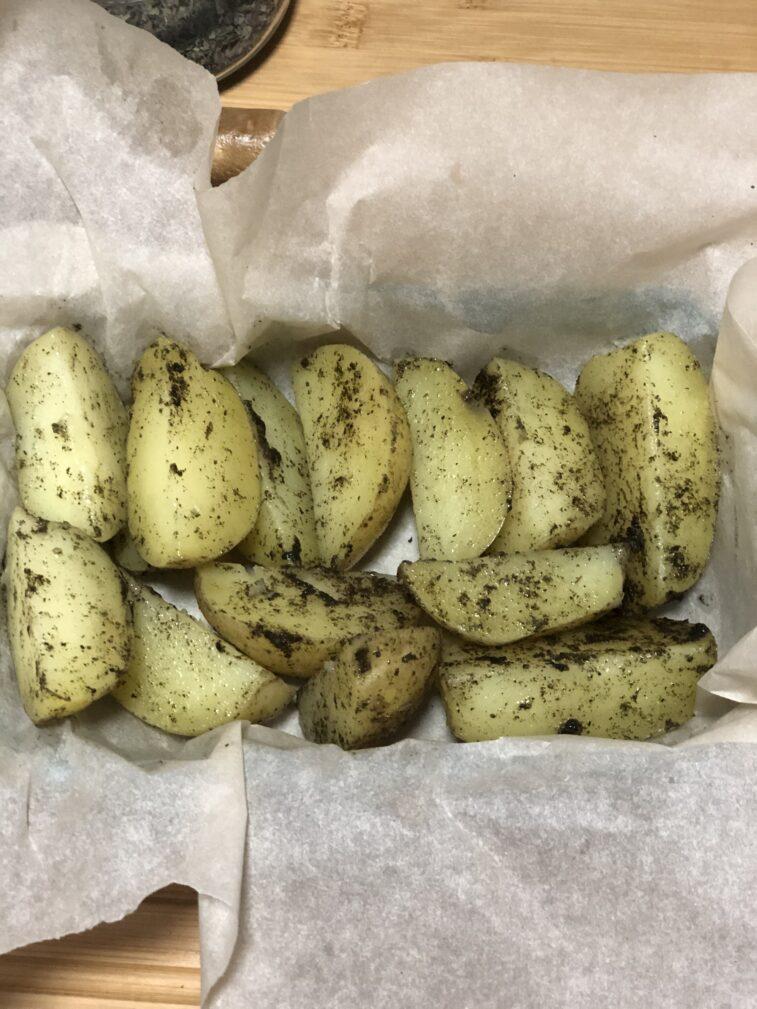 Фото рецепта - Кукуруза и картофель в духовке - шаг 14