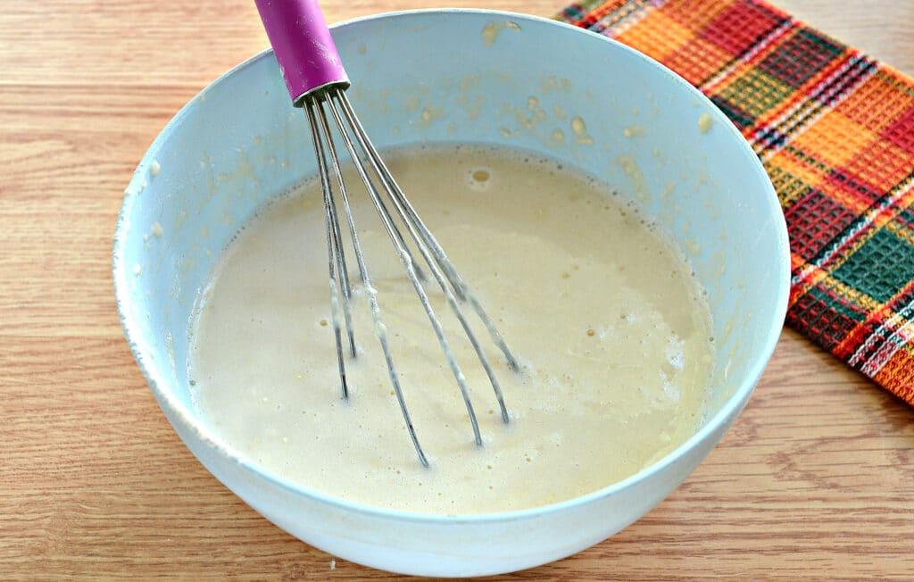 Фото рецепта - Блины с капустной начинкой - шаг 6