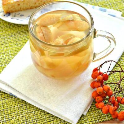 Компот из замороженных яблок - рецепт с фото