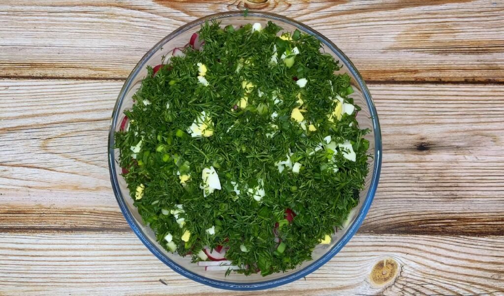 Фото рецепта - ПП салат из капусты - шаг 3