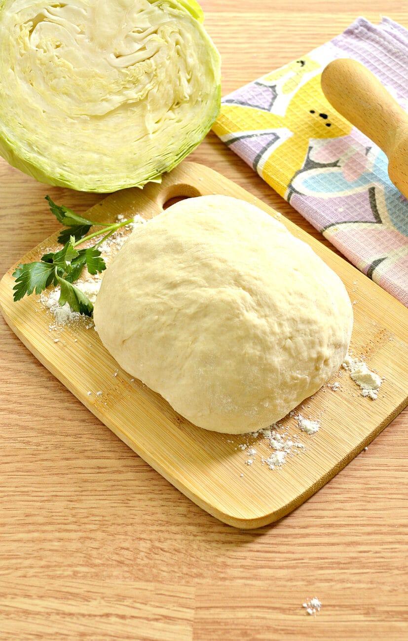 Тесто для пирогов без дрожжей на кефире
