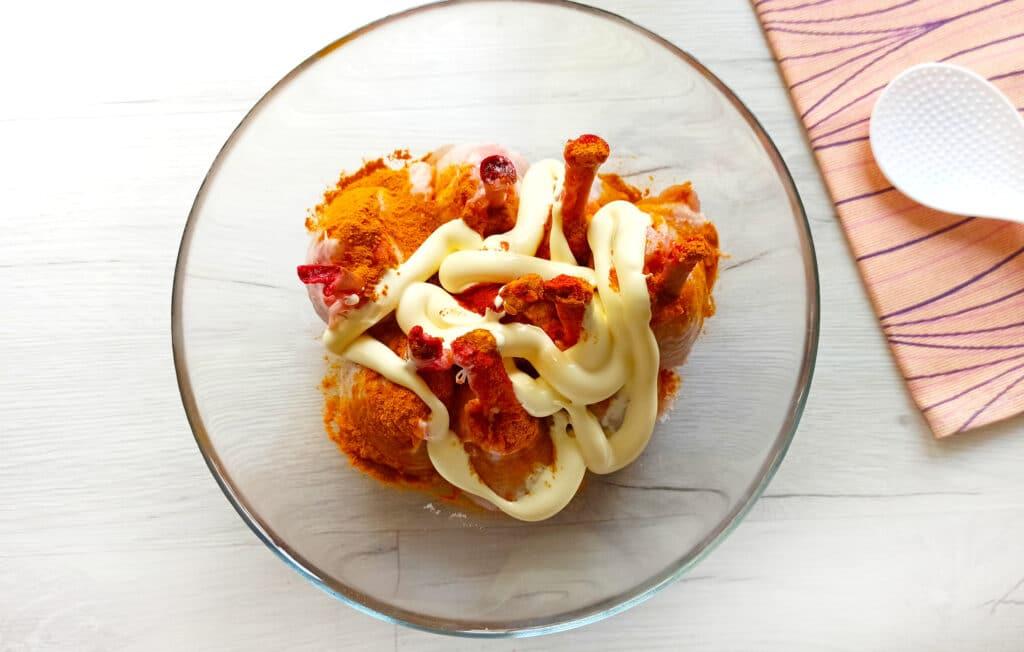 Фото рецепта - Куриные ножки в духовке - шаг 7