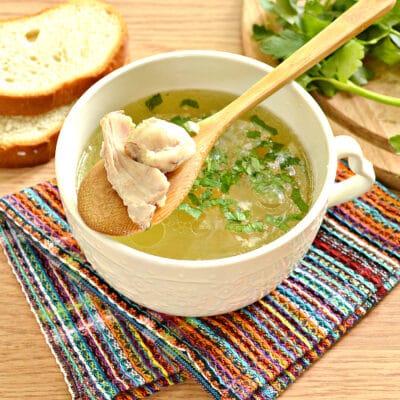 Куриный бульон с овощами в мультиварке - рецепт с фото