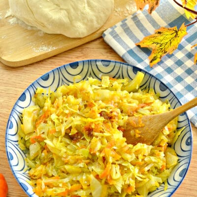 Начинка для пирогов из капусты и тыквы - рецепт с фото