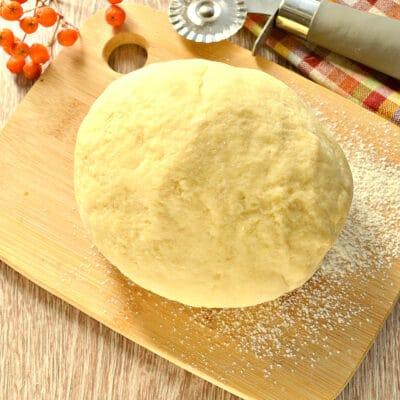 Заварное тесто для пельменей и чебуреков - рецепт с фото