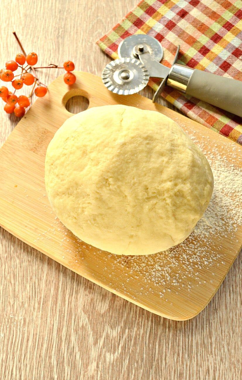 Заварное тесто для пельменей и чебуреков