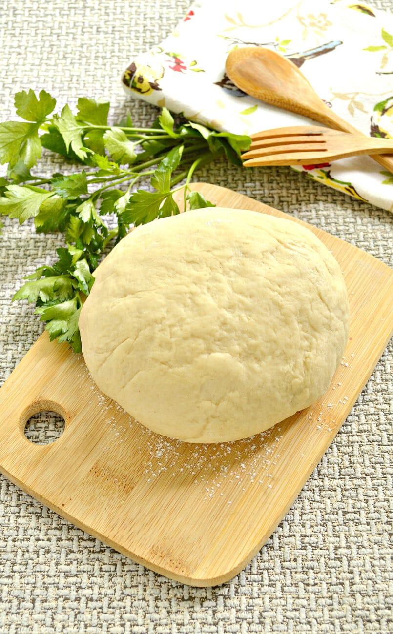 Тесто для пельменей на основе растительного масла