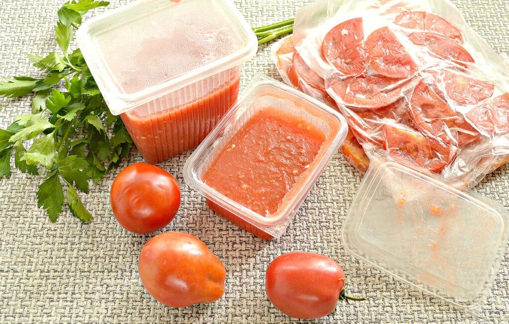 Фото рецепта - Замороженные помидоры на зиму - шаг 9