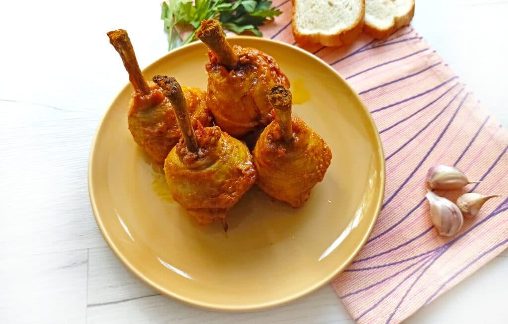 Фото рецепта - Куриные ножки в духовке - шаг 9