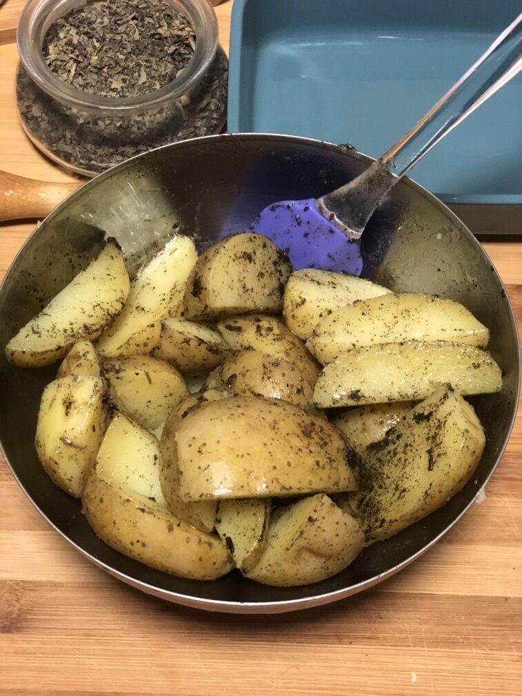 Фото рецепта - Кукуруза и картофель в духовке - шаг 13