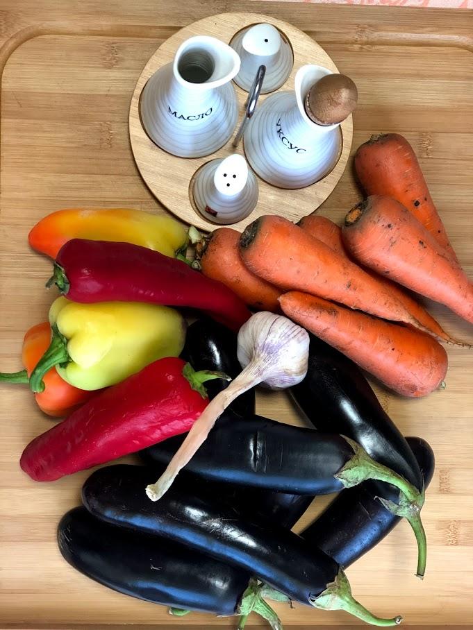 """Фото рецепта - Осенний салат из баклажанов """"грибочки"""" (соленые баклажаны) - шаг 1"""