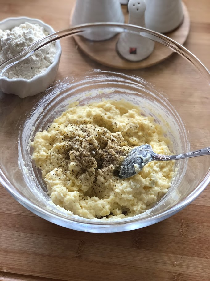 Фото рецепта - Вафли картофельные - шаг 3