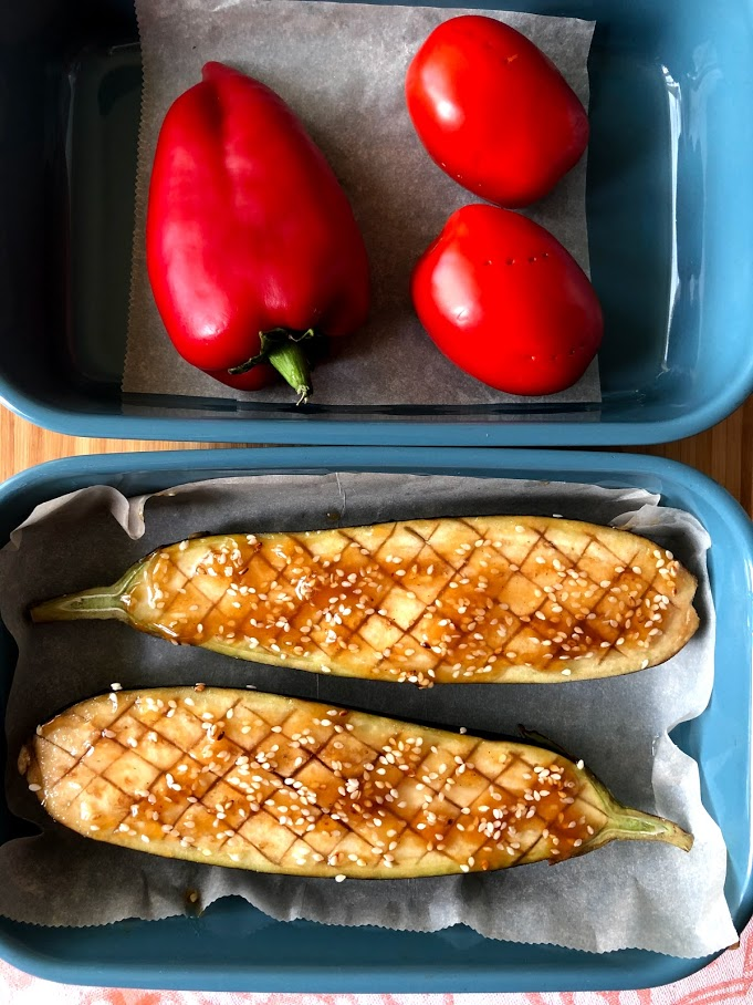 Фото рецепта - Запеченные овощи в духовке - шаг 3