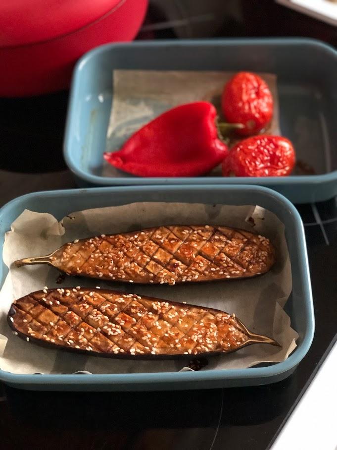 Фото рецепта - Запеченные овощи в духовке - шаг 4