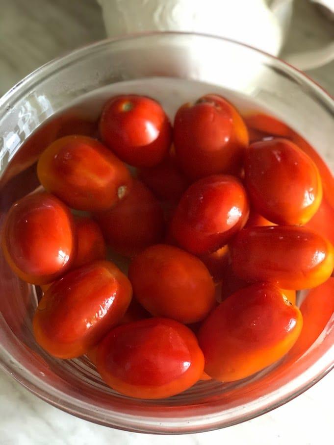 Фото рецепта - Хоровац из баклажанов (армянский салат) - шаг 3