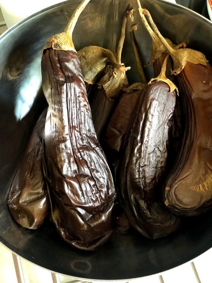 Фото рецепта - Хоровац из баклажанов (армянский салат) - шаг 4