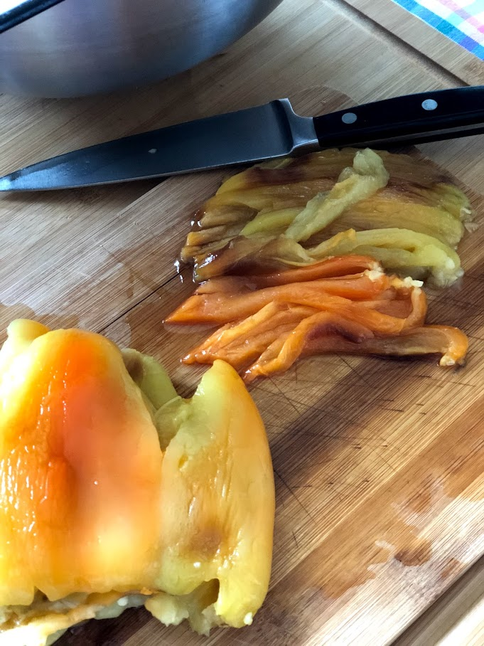 Фото рецепта - Хоровац из баклажанов (армянский салат) - шаг 6
