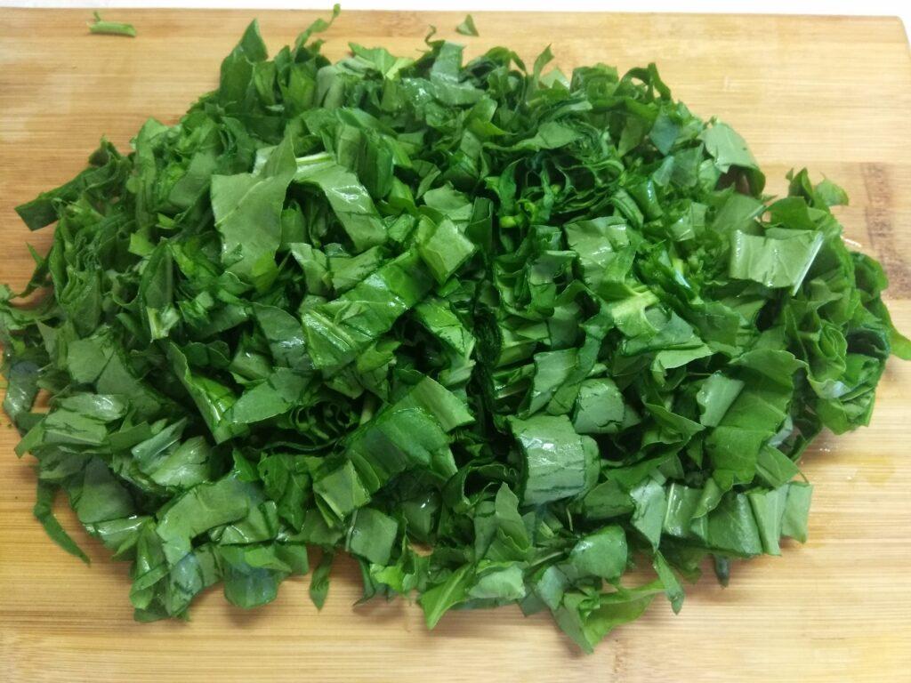 Фото рецепта - Зеленый борщ с булгуром (щавельный суп) - шаг 4
