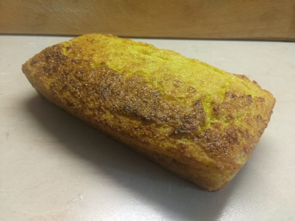 Фото рецепта - Кукурузный кекс с кабачком - шаг 5