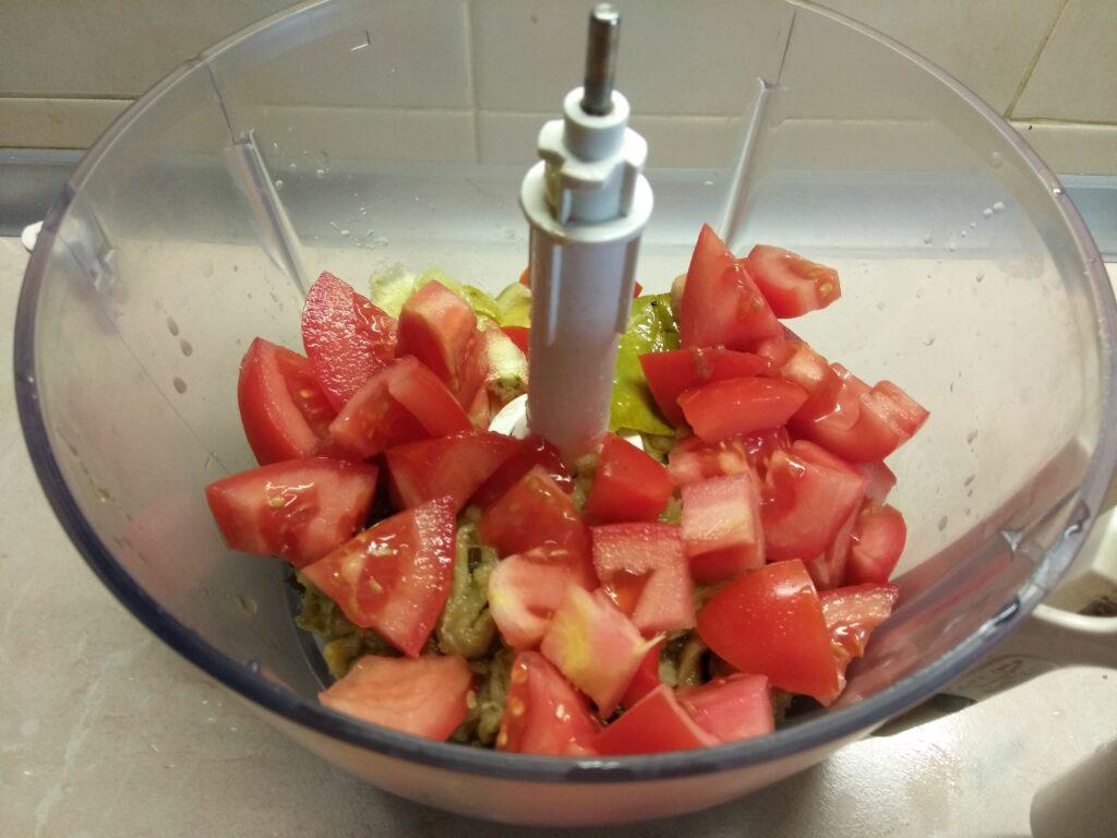 Фото рецепта - Холодная закуска из баклажанов, кабачков и помидоров - шаг 3