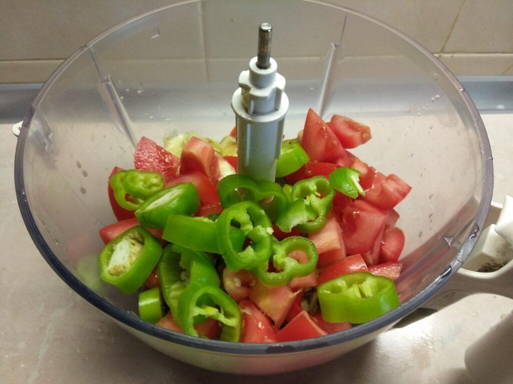 Фото рецепта - Холодная закуска из баклажанов, кабачков и помидоров - шаг 4
