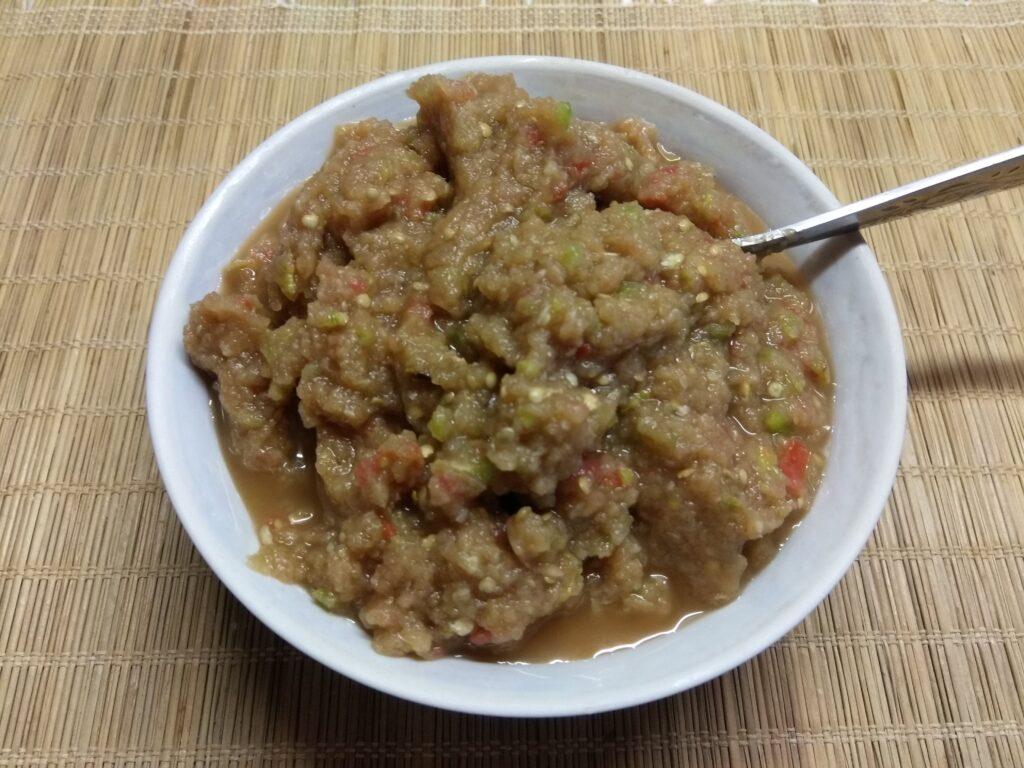 Фото рецепта - Холодная закуска из баклажанов, кабачков и помидоров - шаг 5