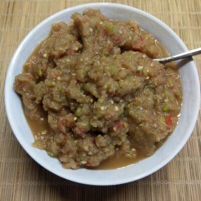 Холодная закуска из баклажанов, кабачков и помидоров - рецепт с фото