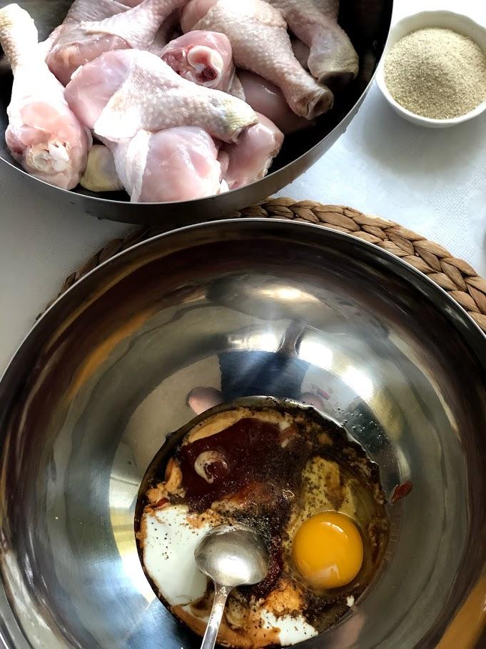 Фото рецепта - Куриные голени в кляре - шаг 3