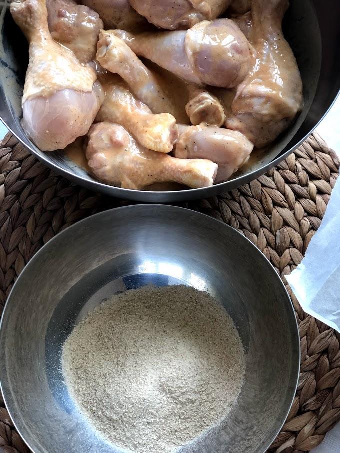 Фото рецепта - Куриные голени в кляре - шаг 6