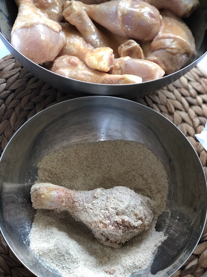 Фото рецепта - Куриные голени в кляре - шаг 7