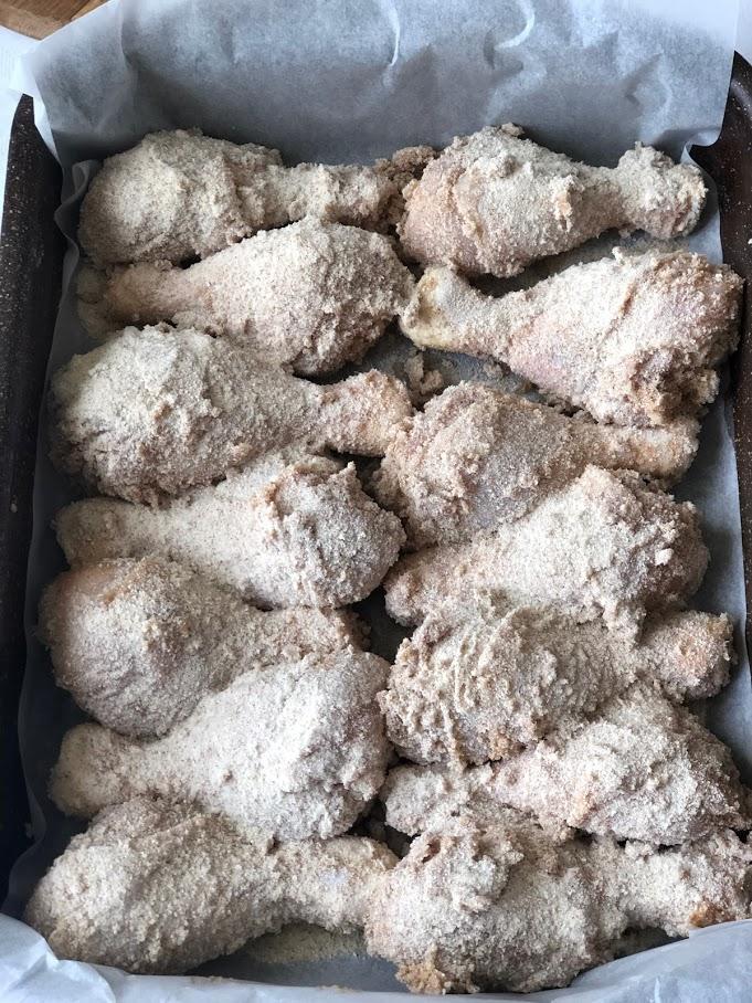 Фото рецепта - Куриные голени в кляре - шаг 8