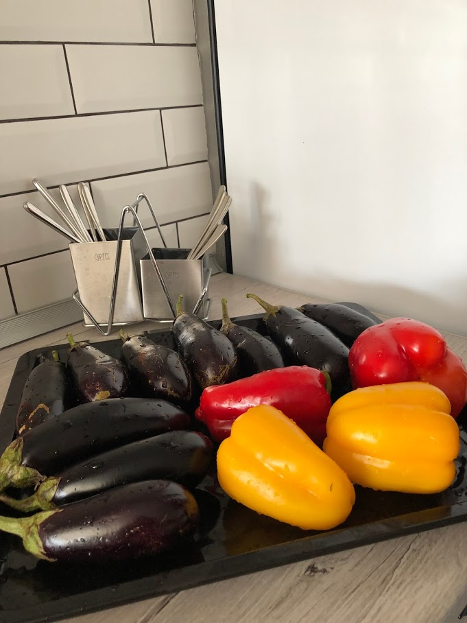 Фото рецепта - Хоровац из баклажанов (армянский салат) - шаг 2