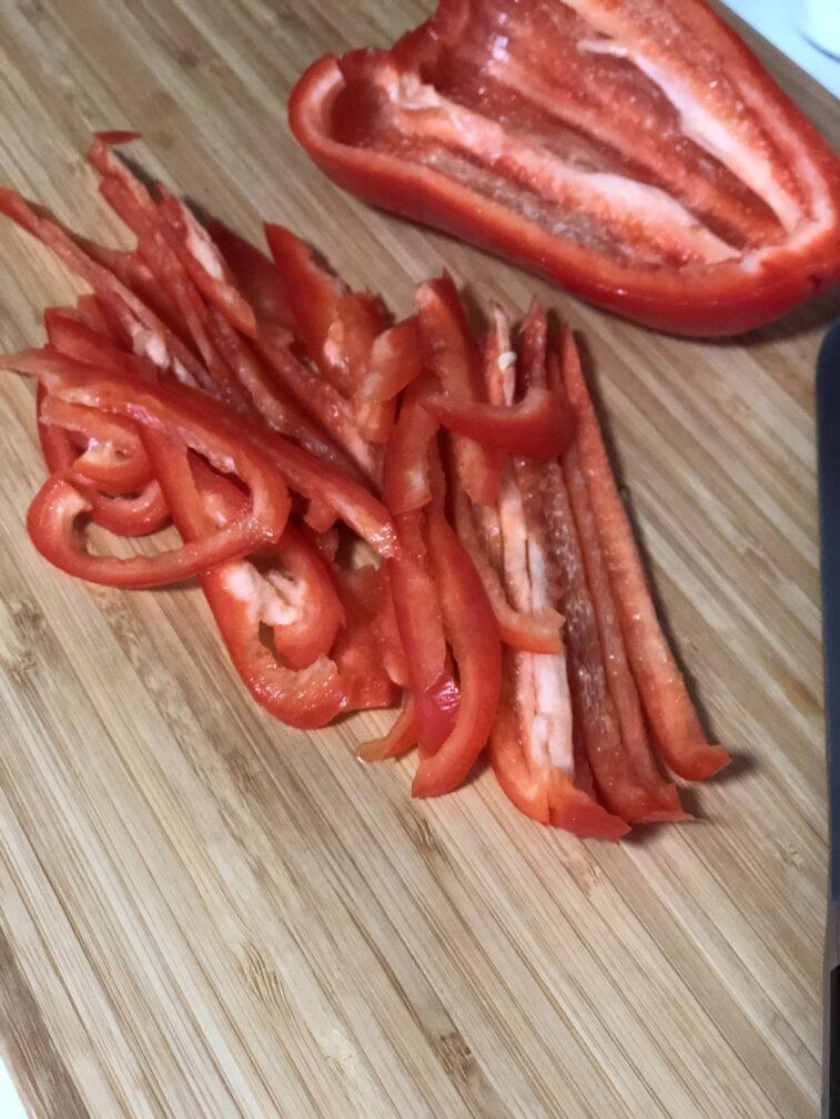 Фото рецепта - Салат из стеклянной лапши - шаг 5