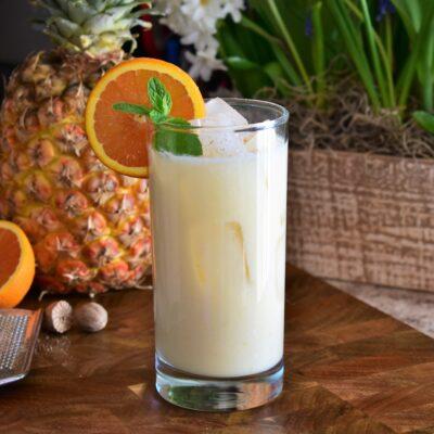 Кокосово-фруктовый коктейль - рецепт с фото