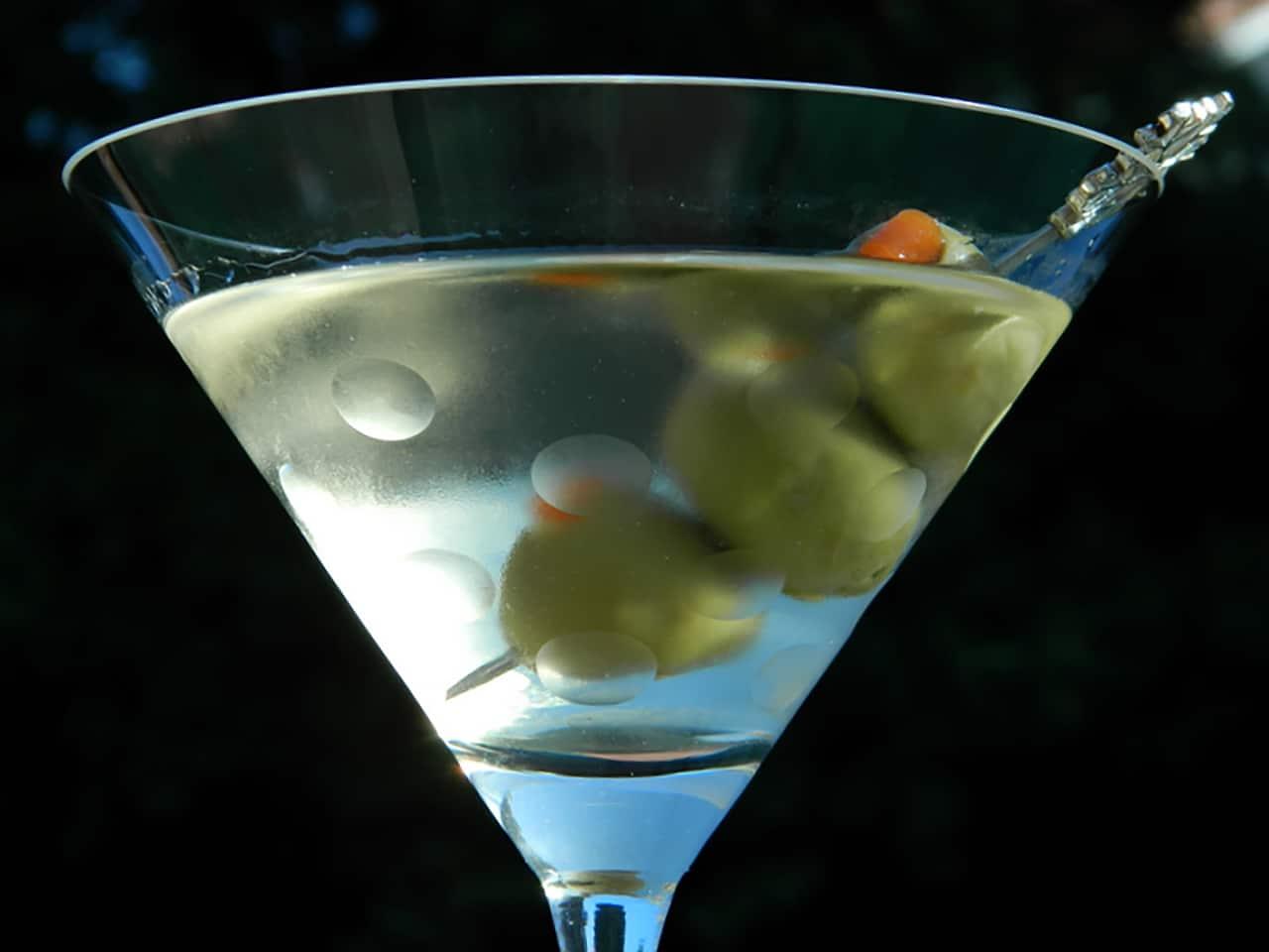 Коктейль: водка-мартини