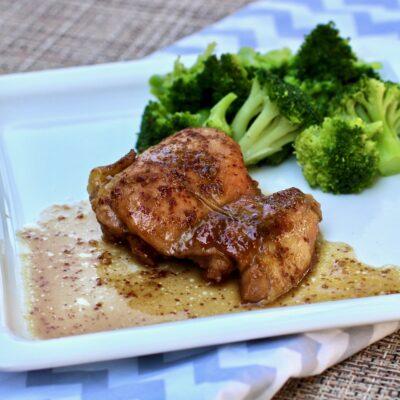 Курица в медово-горчичном соусе - рецепт с фото
