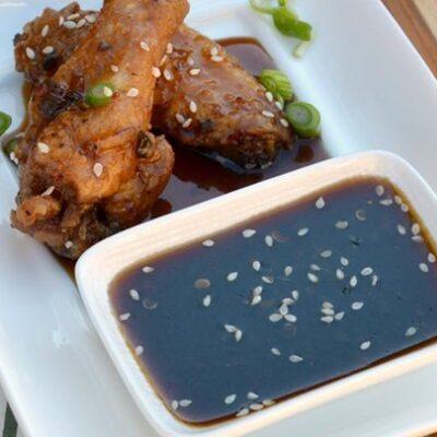 Острый соус для крылышек по-азиатски - рецепт с фото