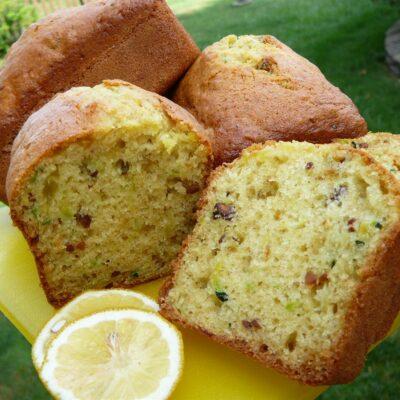Лимонный хлеб с цукини - рецепт с фото