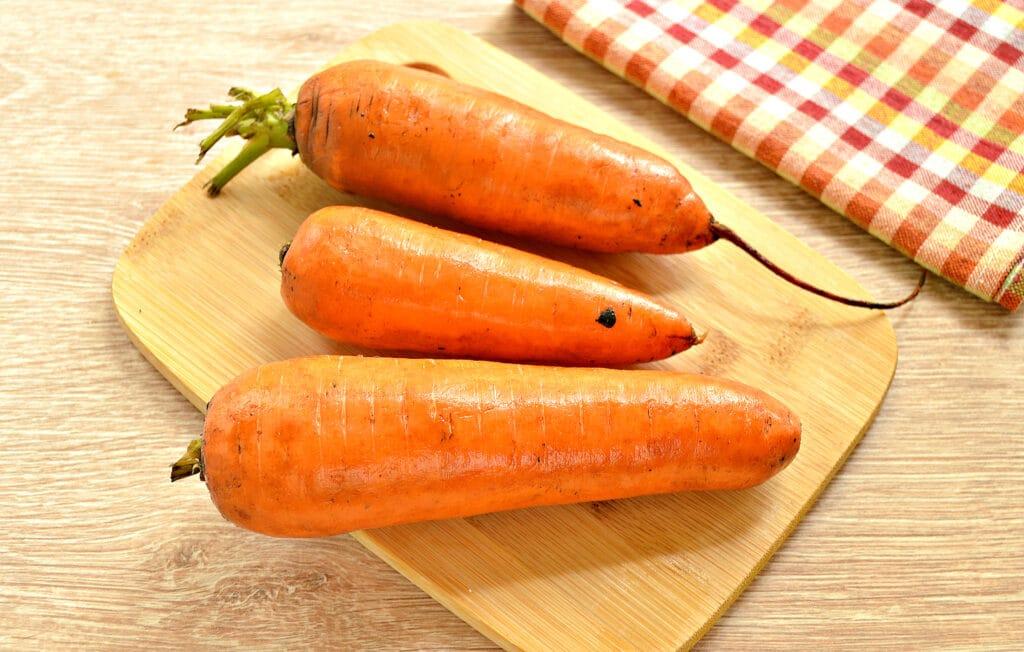 Фото рецепта - Морковь замороженная (в силиконовых формах) - шаг 1