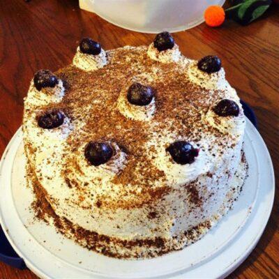 """Шварцвальдский вишневый торт или """"Черный лес"""" - рецепт с фото"""