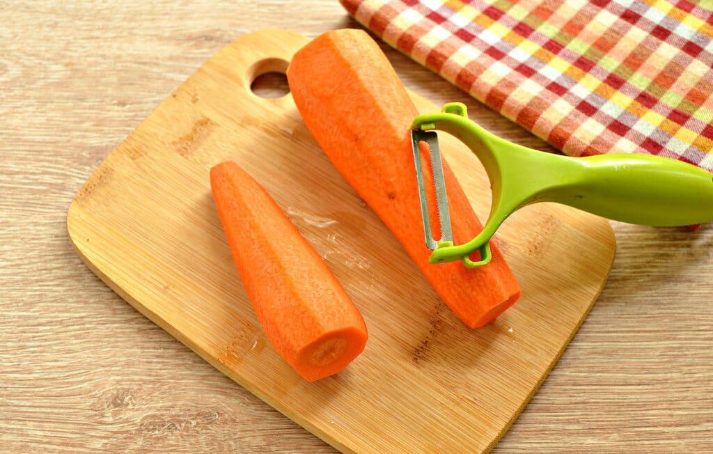 Фото рецепта - Морковь замороженная (в силиконовых формах) - шаг 2