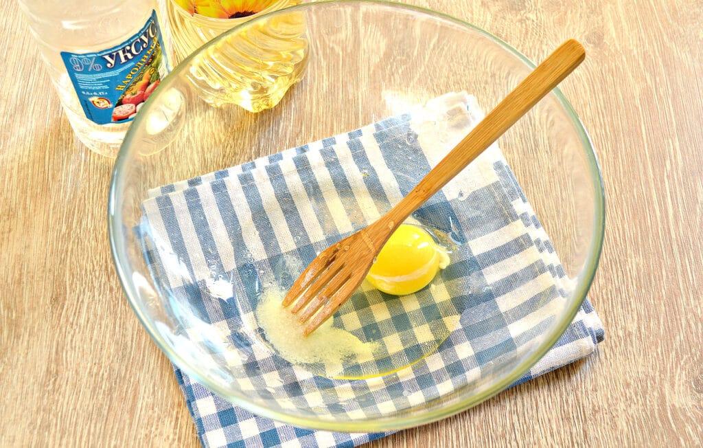 Фото рецепта - Тесто для пельменей с уксусом - шаг 2