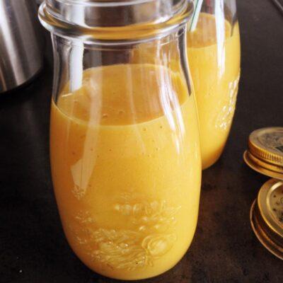 Протеиновый смузи из манго - рецепт с фото