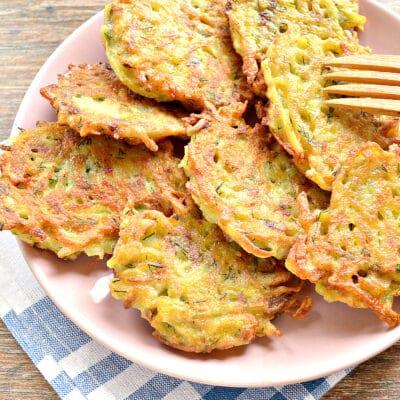 Картофельные оладьи с грибами и зеленью - рецепт с фото