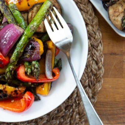 Овощи на гриле - рецепт с фото