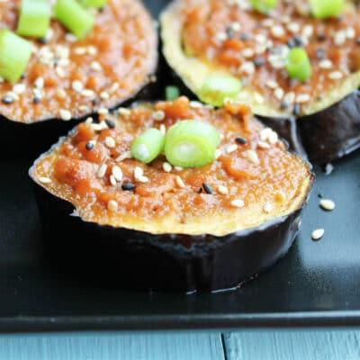 Насу дэнгаку – баклажаны, запечённые в глазури - рецепт с фото