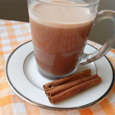Шоколадный горячий чай - рецепт с фото